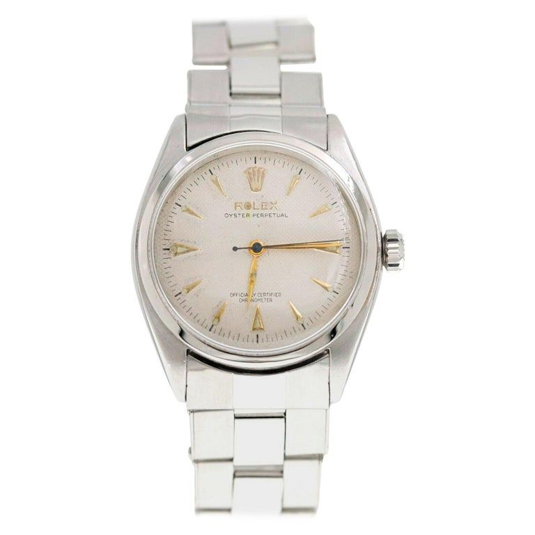 Vintage Rolex 6084 Oyster Perpetual Stainless Steel #stainlesssteelrolex