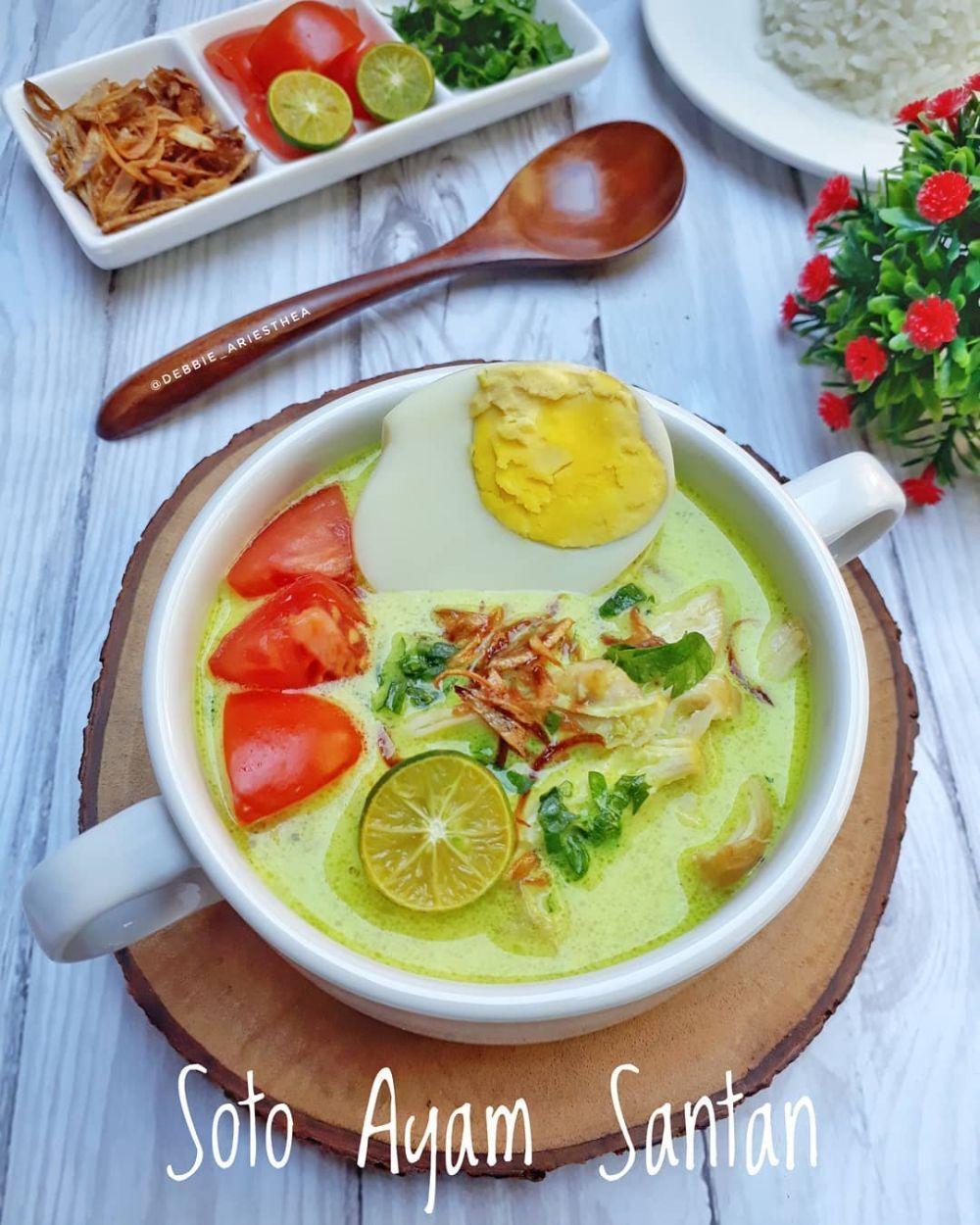 Resep Soto Ayam Santan Instagram Di 2020 Makanan Dan Minuman Resep Masakan Indonesia Resep Masakan