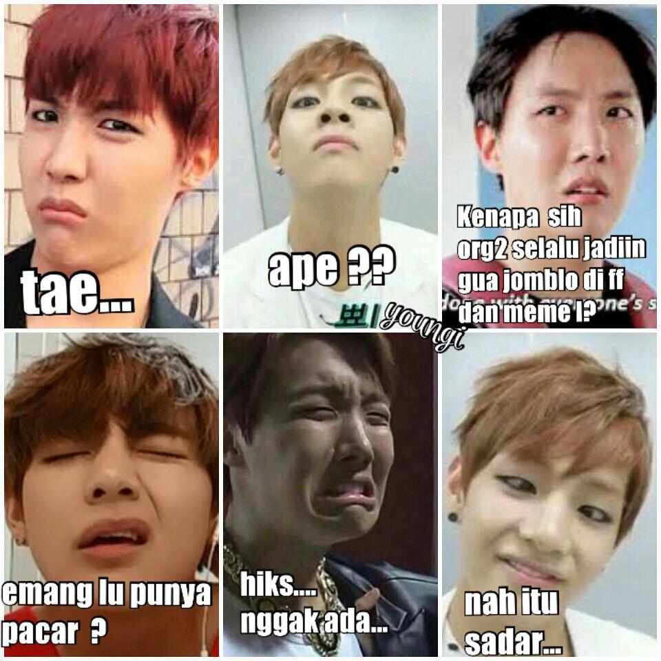 Meme Comik Bts Part Ii Vkook Taekook Namjin Yoonmin Jhope Kpop Memes Bts Bts Memes Bts Funny