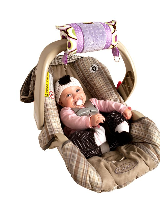 Padalily Car Seat Handle Cushion — Lugging around baby in the car ...