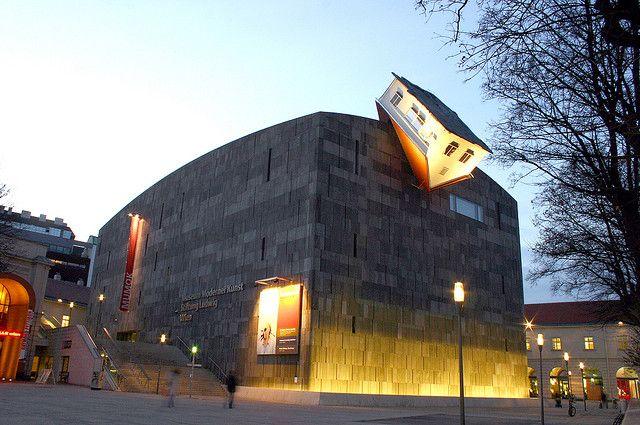 Mumok Museum Moderner Kunst In Vienna Austria Designed By Ortner Ortner Modern Art Museum Of Modern Art Vienna Museum