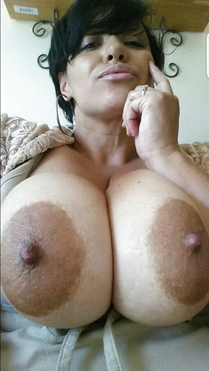 Giant with beautiful areola and latina tits