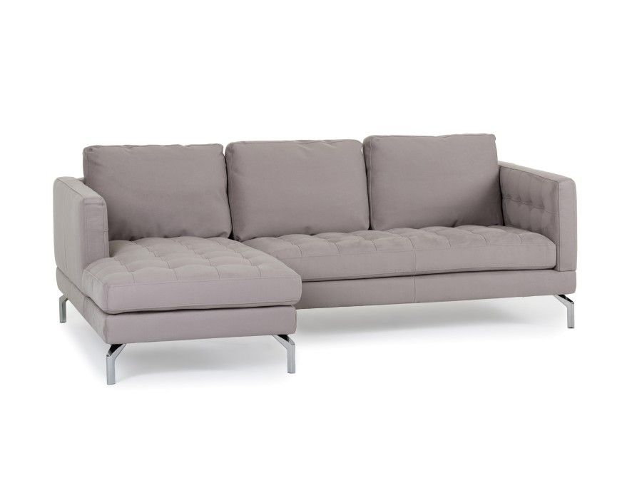 SIMPSON - Sectional Sofa Left - Light Grey