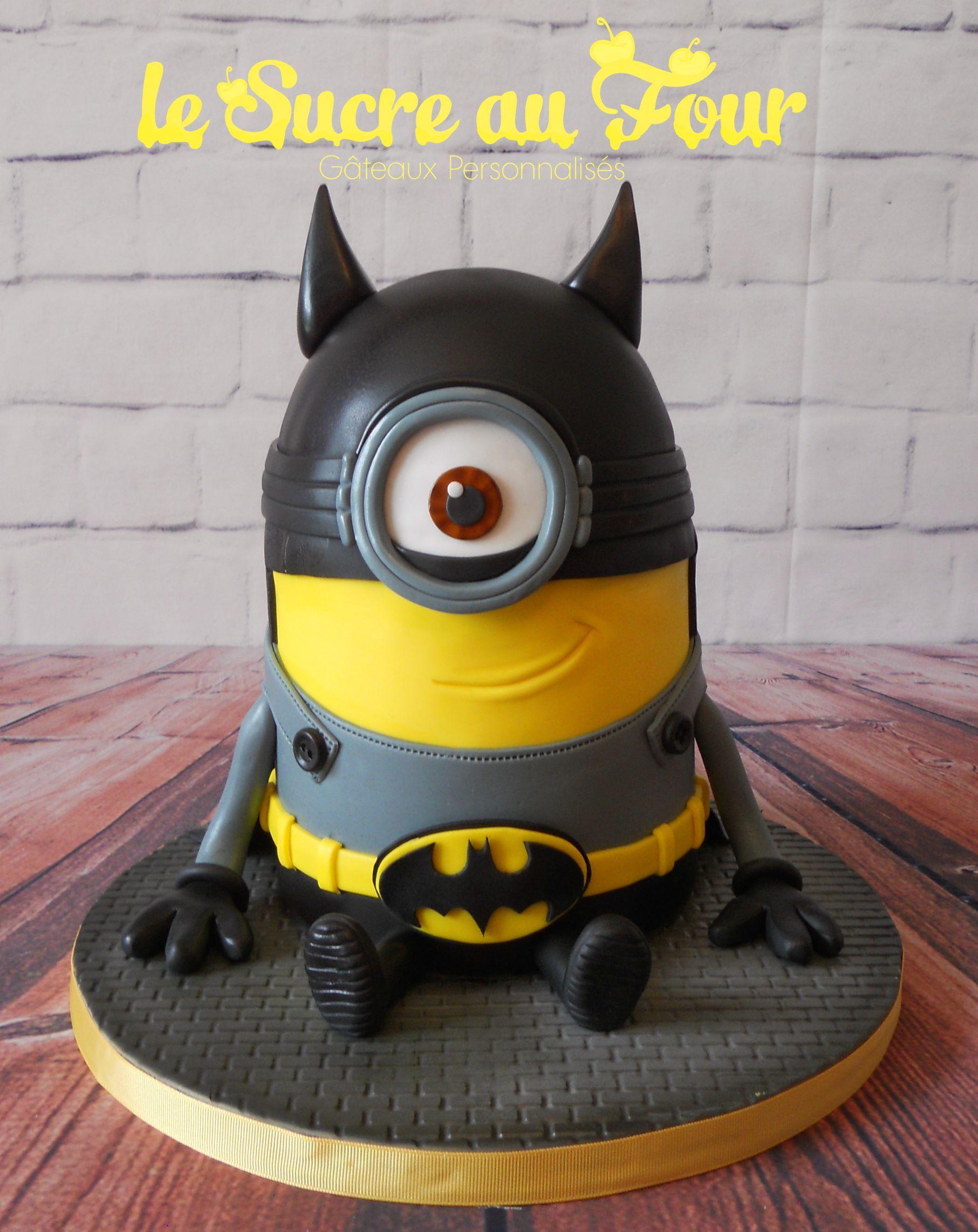 Batman Minion Cake My Cakes Cake Batman Cakes Et Birthday Cake