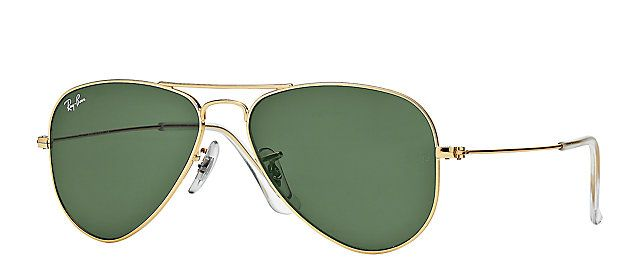 d29d2f5d1f Ray-Ban RB3044 L0207 52-14 AVIATOR SMALL Gold sunglasses | Official Online  Store US