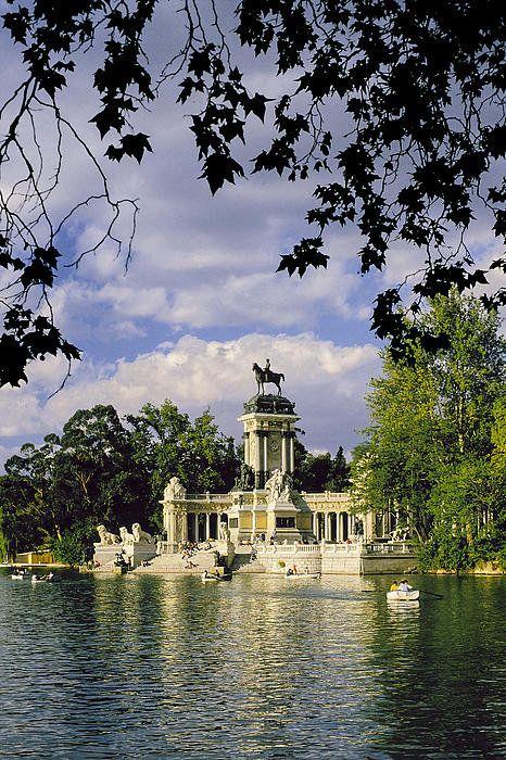 Estanque Del Parque De El Retiro Print By Luis Castaneda Fine Art Photographs Fine Art America Fine Art