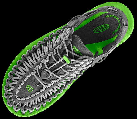 4f6e6bdf8de Bungee cord shoes. Keen Uneek