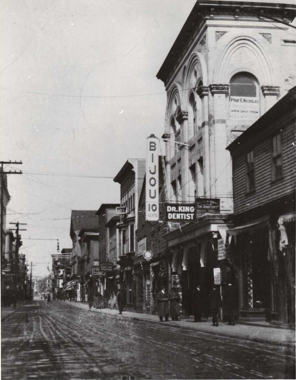 The Old Hermit: This Shot Is Of The Old Bijou Theater On Thames Street