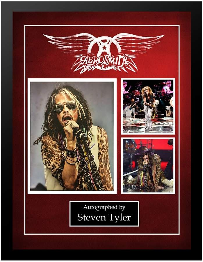 11 x 14-Inch Legends Never Die Aerosmith Framed Photo Collage