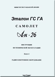 Antonov An Aircraft Instruction And Operation Manual Book