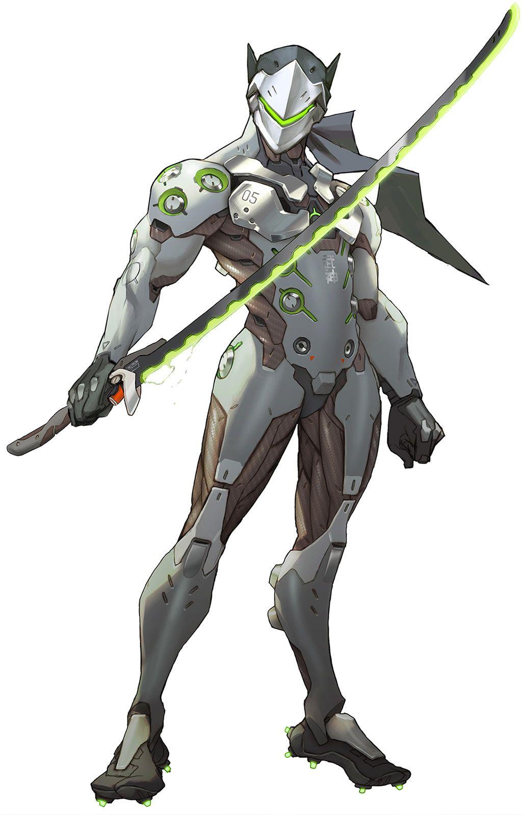 Overwatch Cyborg Ninja