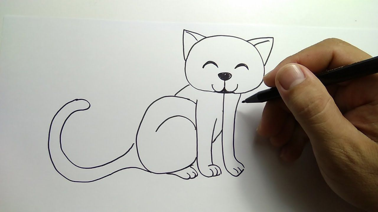 Download 76 Gambar Kucing Yang Bisa Digambar Terlihat Keren Hd Hewan Cara Menggambar Kucing