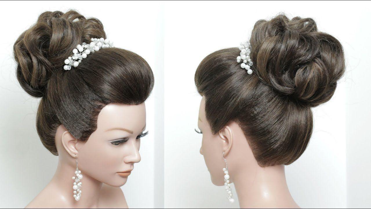 perfect bridal bun. hair tutorial. wedding updo hairstyle
