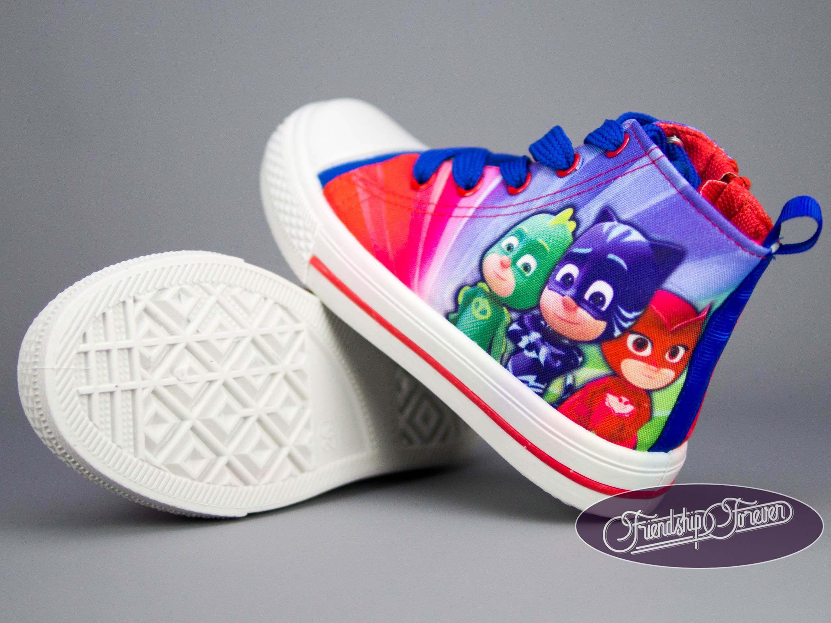 PJ Masks Trainers Canvas Shoes   Kid