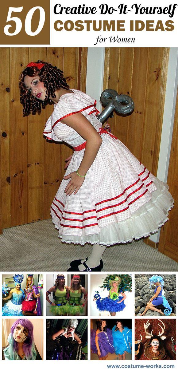 50 Creative DIY Halloween Costume Ideas for Women DIY Halloween - good halloween costumes ideas