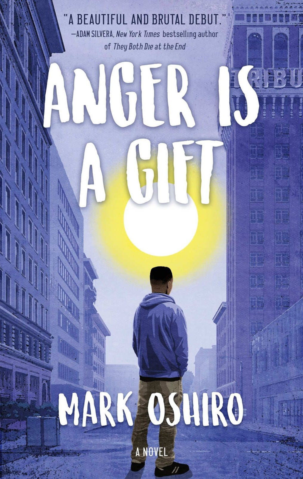 Mark oshiro anger is a gift with images books for