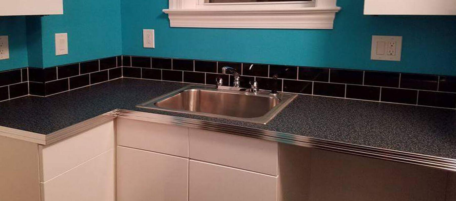 Aluminum countertop edging trim aluminum table
