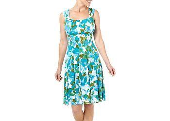 London Times Womens Watercolor Sleeveless Dress Bealls Florida