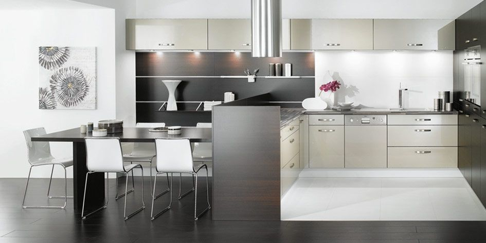 Good Kitchen:Mobalpa Black And White Theme Kitchens Exciting And Impressive  Kitchen With Metal Kitchen Cabinet And Stove With Oven And Kitchen Sink And  Dish Rack ... Images
