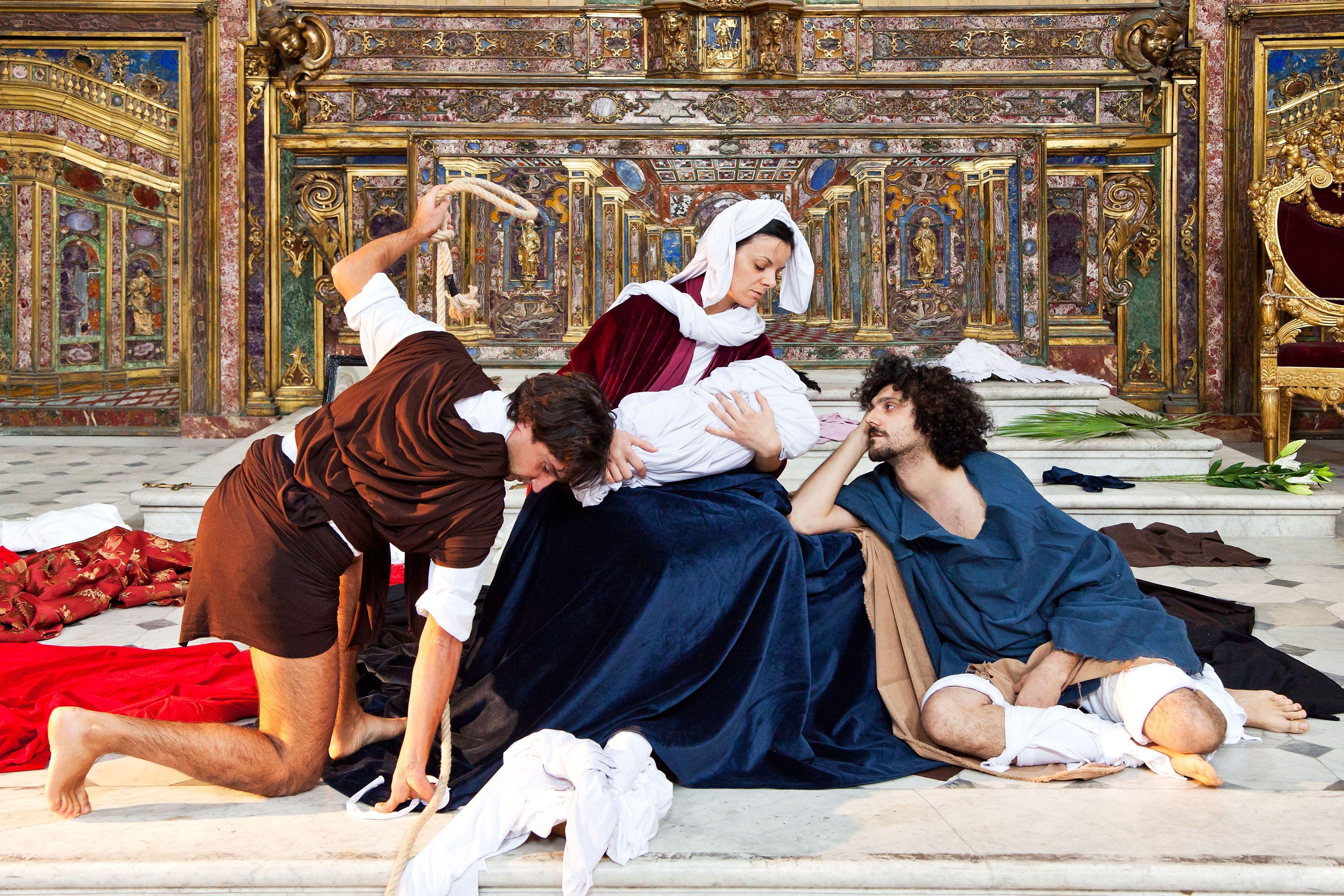 Tableaux Vivants:l'arte prende vita Palazzo Reale di Napoli ...