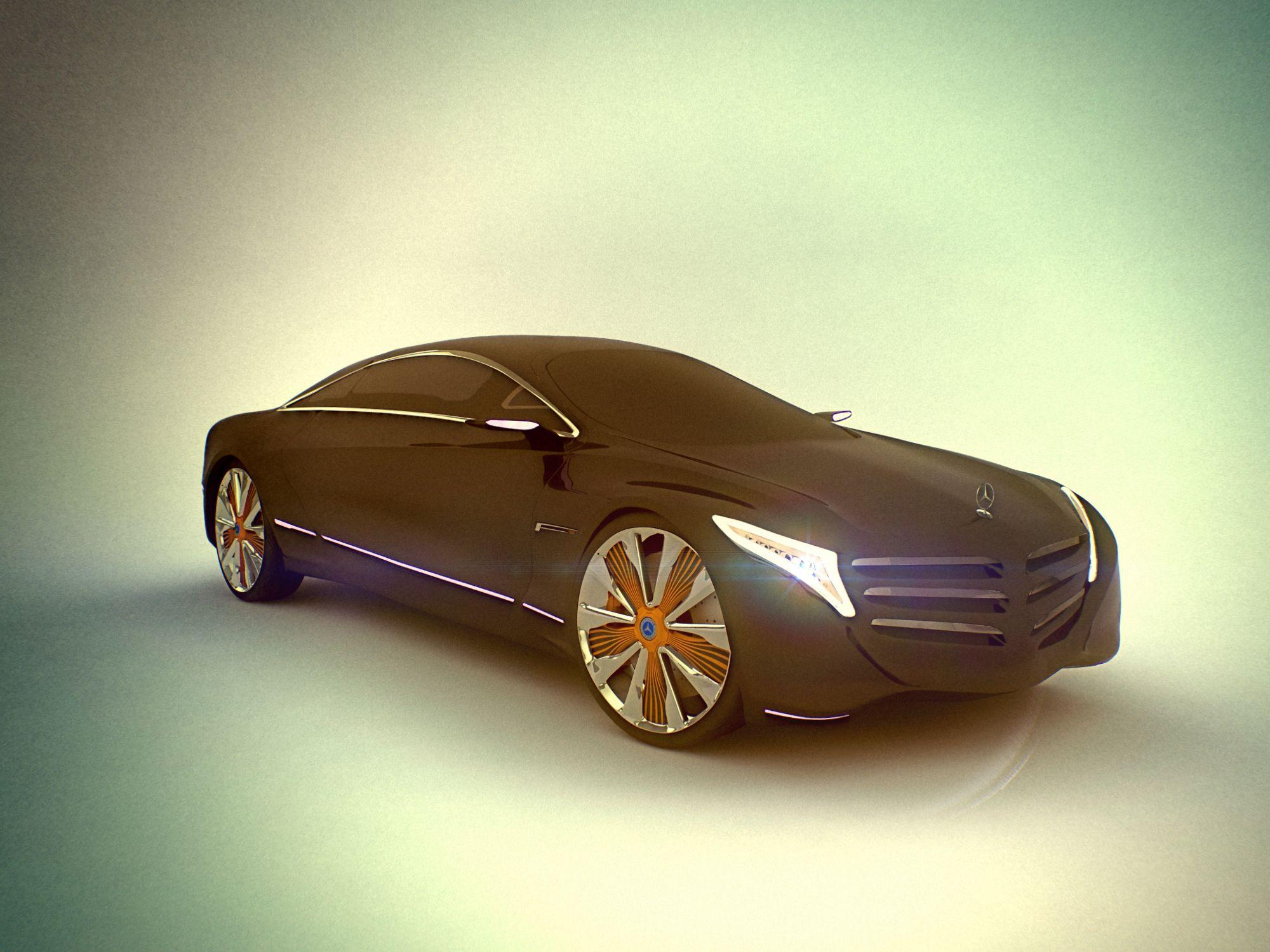 Mercedes f125, concept