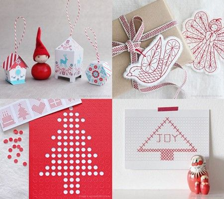 hole punch Christmas tree | Diy christmas ornaments ...