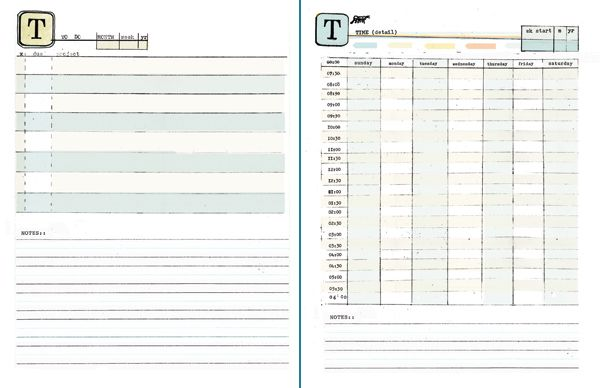 Make your own awesome planner, YEAH! #diyplanner Printables