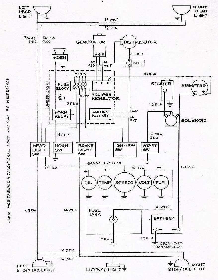 Wiring Diagram Cars Trucks Wiring Diagram Cars Trucks Truck Horn Wiring Wiring Diagrams Ford Hot Rod Hot Rods Electrical Wiring Diagram