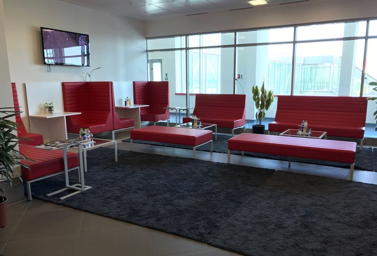 Review Dushanbe Airport Lounge http//onemileatatime