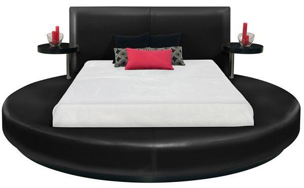 Black Beds Platform Bed Round Beds Circle Bed