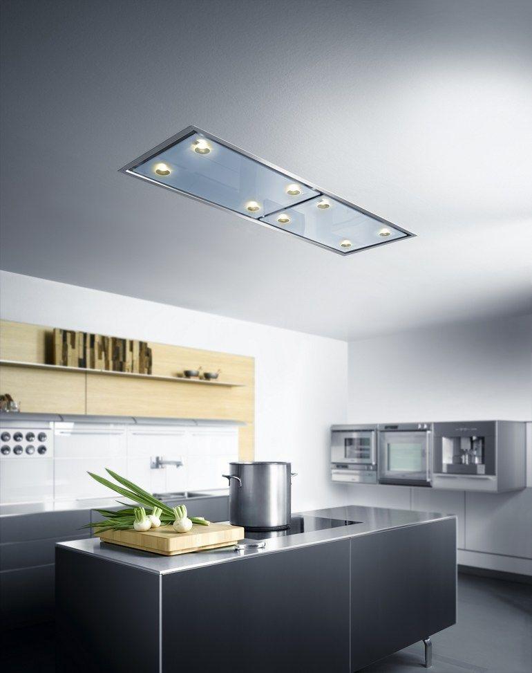 einbau dunstabzugshaube mit integrierter beleuchtung. Black Bedroom Furniture Sets. Home Design Ideas