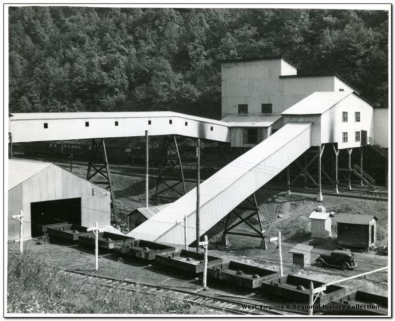 Bollingers Studio, Charleston, W. Va.; Winding Gulf Collieries, Tipple & Related Buildings