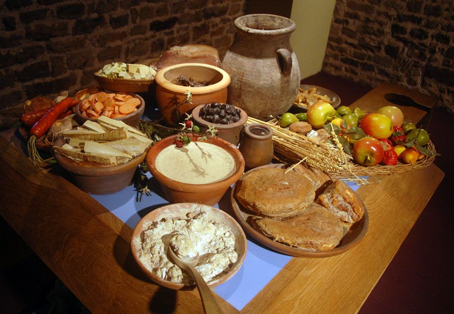 ancient roman diets and foods
