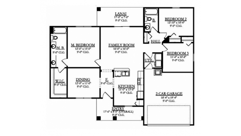 Level 1   house plans   House plans, How to plan ... on 4 bed 2 bath home, 2 bed 2 bath home, 3 bed open floor plan,