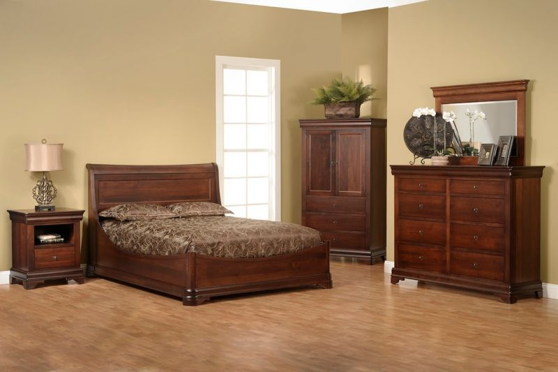 The timeless beauty in solid wood bedroom furniture choices - Designalls