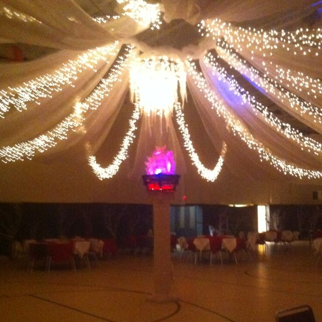 Dance floor center for fire and ice prom cool ideas for Halloween dance floor ideas