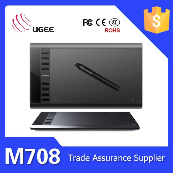 Ugee M708 Digital Signature Drawing Tablet 2048 Pen Pressure