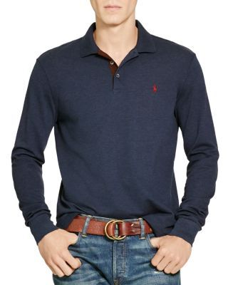 03c48709 Polo Ralph Lauren Stretch Mesh Long Sleeves Classic Fit Polo Shirt |  Bloomingdale's