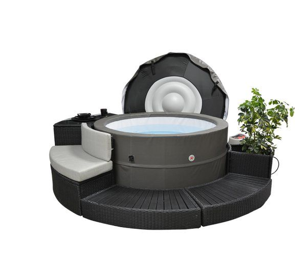 Canadian Spa Company S Swift Current V2 5 Person 125 Jet Plug And
