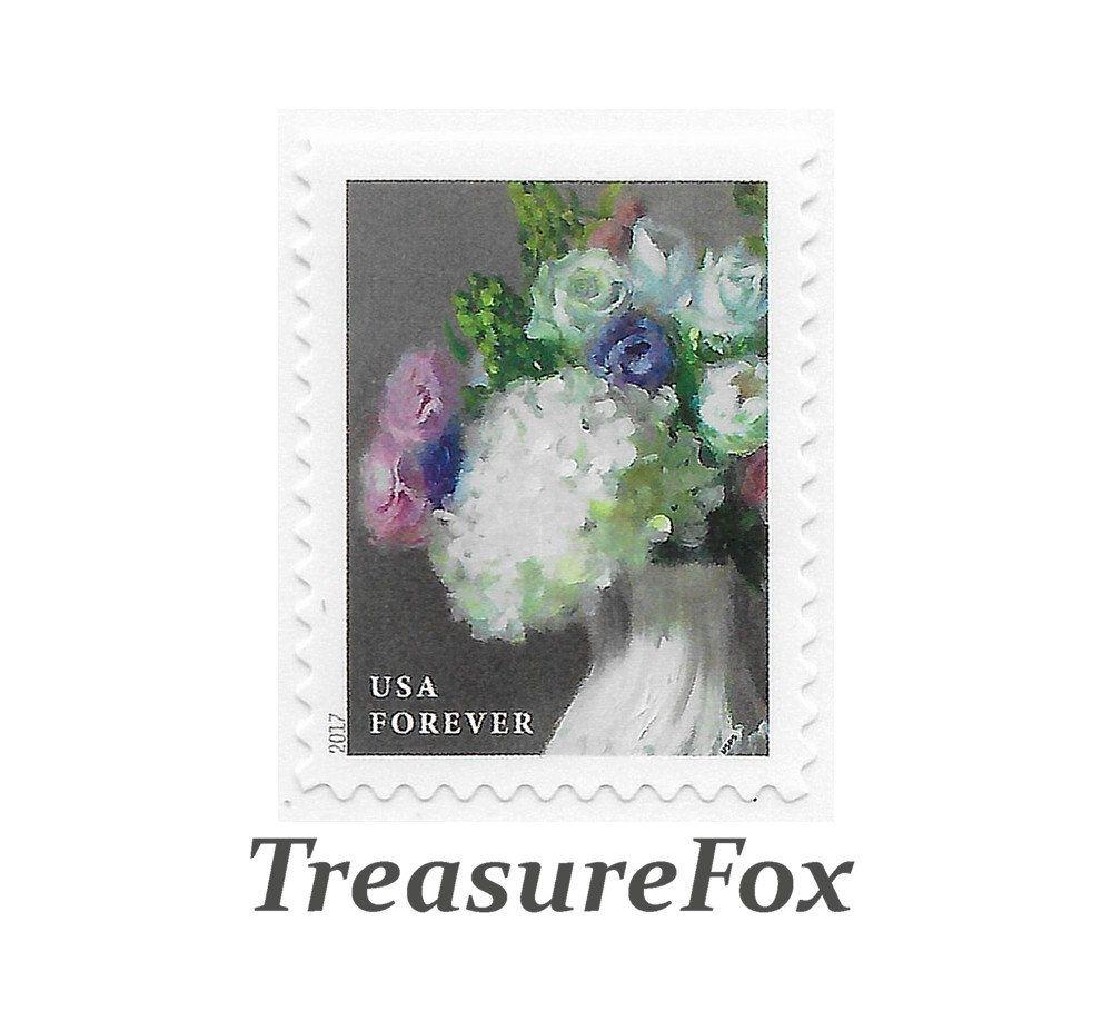 TEN Unused White Hydrangeas and Assorted Roses in White Vase Forever ...