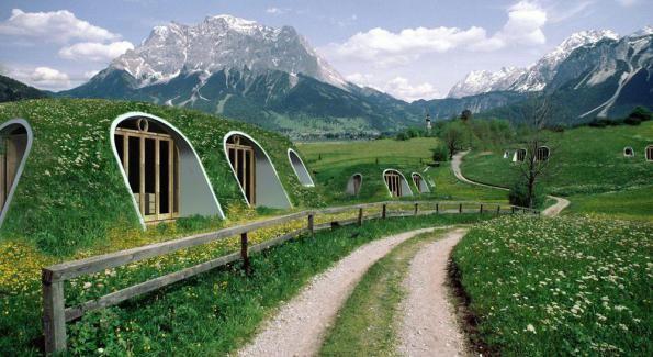 Construire sa maison de Hobbit en kit pour moins de 15000