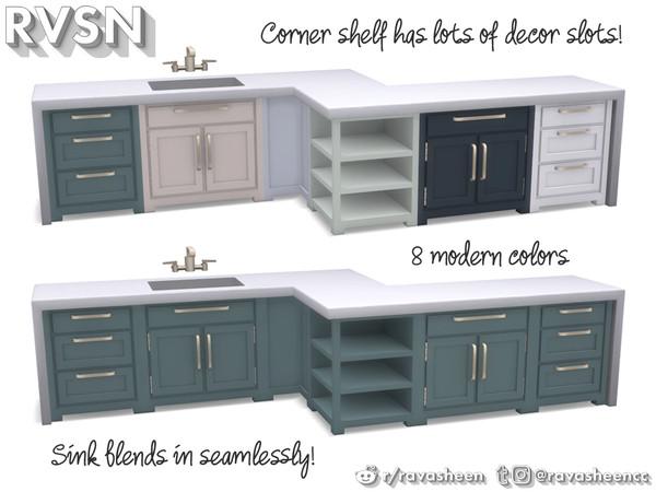 RAVASHEEN's Simmer Down Kitchen Counter Set