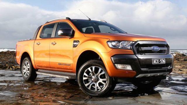 Xe bán tải Ford Ranger lọt top những dòng xe bán chạy