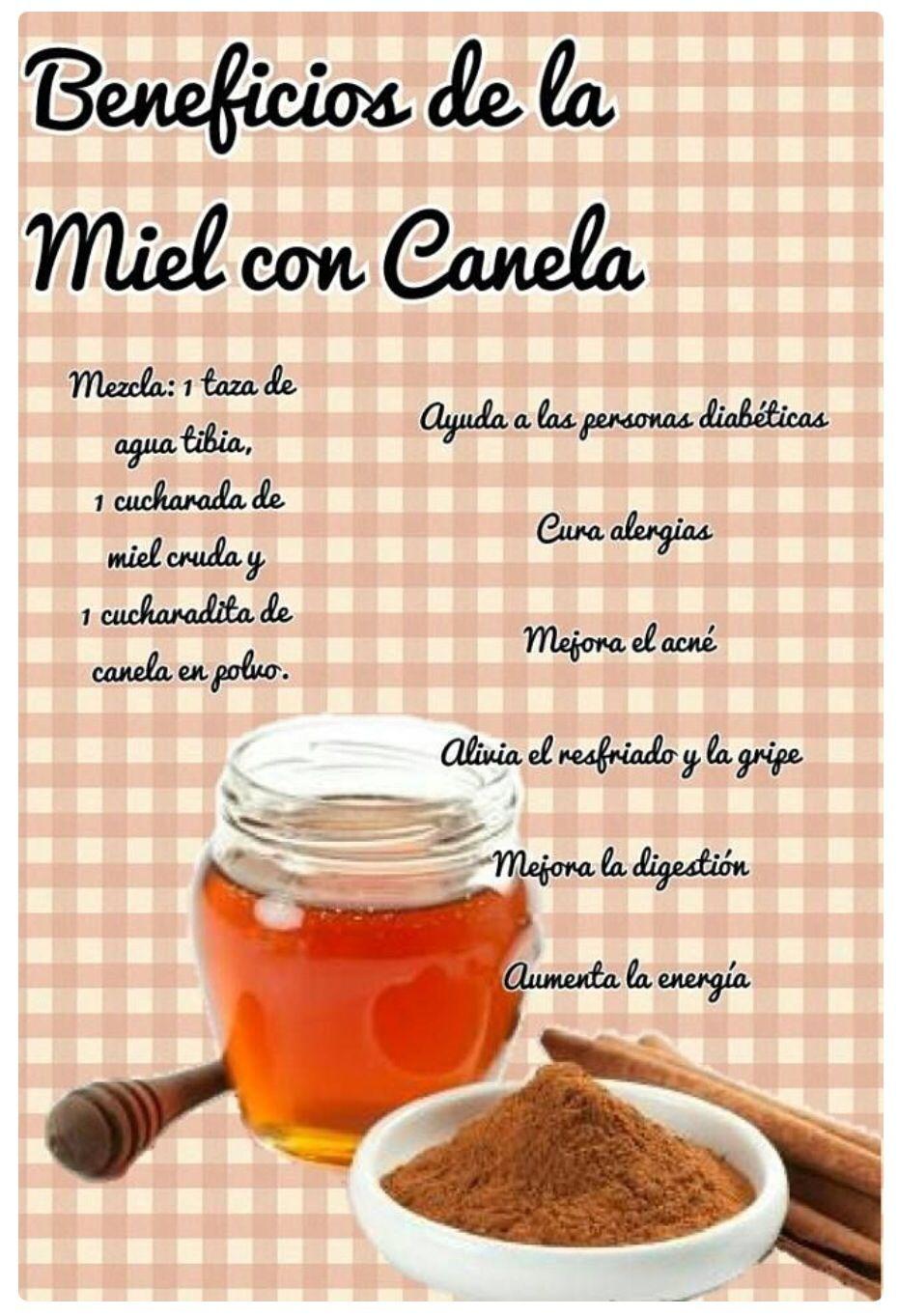 Agua Com Mel E Canela Beneficios el buenísimo te de canela  canela y miel, recetas para la