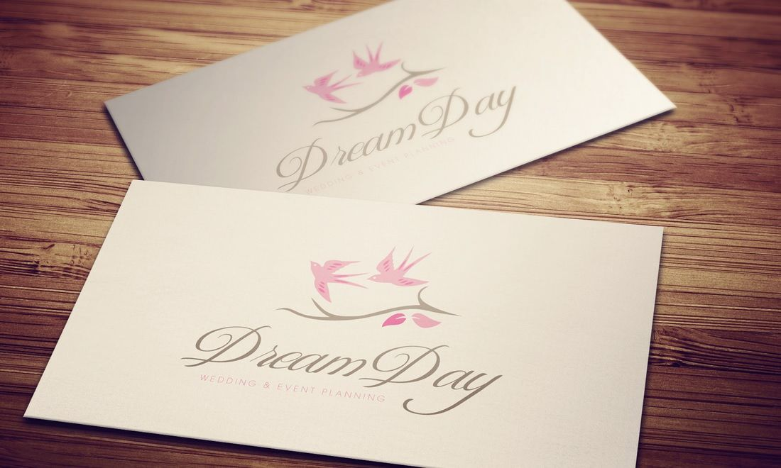 Wedding Photography Business Plans: Logo Design Concepts For A Wedding & Event Planning