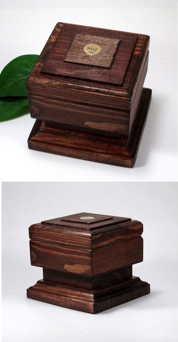 mens jewelry box personalized mens gift mens birthday father s