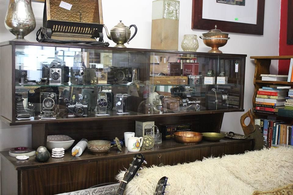 A sneak peak inside our lovely Norwood Antiques and Collectables shop