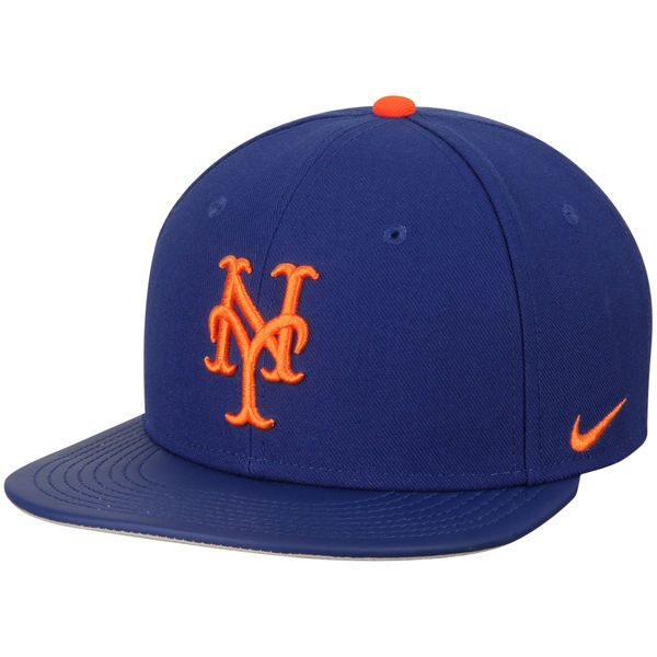 eefa33f81e1c0 Men s New York Mets Nike Royal True Snapback Adjustable Hat