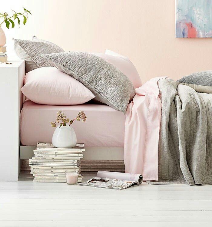 Contemporary Pastel Bedroom Decore. Kmart Australia