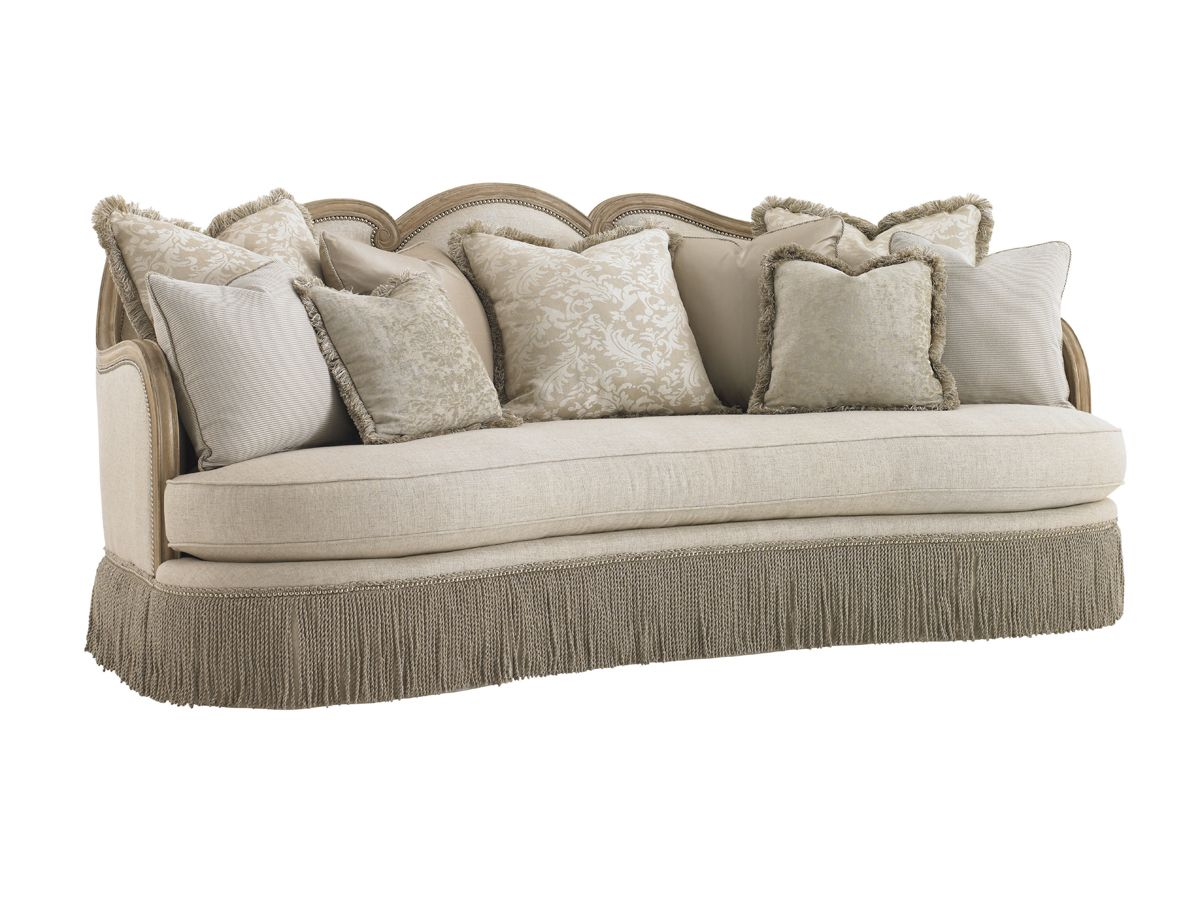 Lexington Upholstery Salon Sofa   Lexington Home Brands